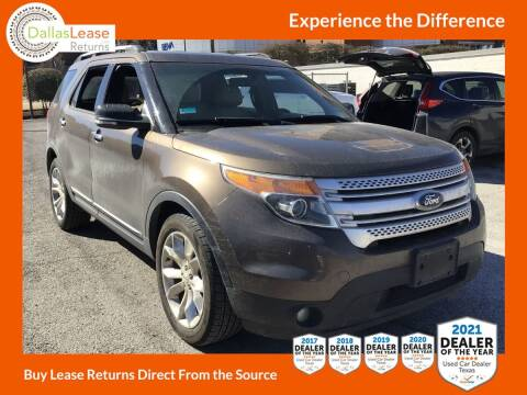 2015 Ford Explorer for sale at Dallas Auto Finance in Dallas TX