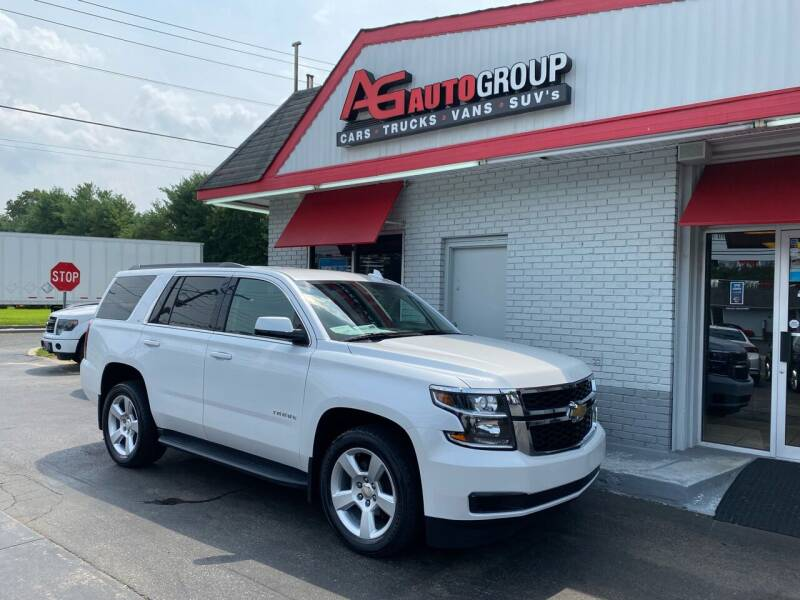 2016 Chevrolet Tahoe for sale at AG AUTOGROUP in Vineland NJ
