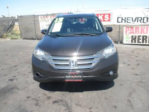 2013 Honda CR-V for sale at Quick Auto Sales in Modesto CA