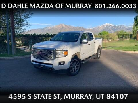 2018 GMC Canyon for sale at D DAHLE MAZDA OF MURRAY in Salt Lake City UT