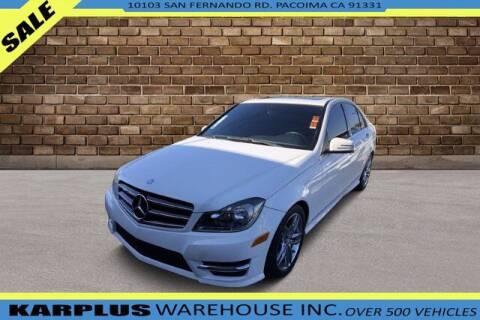 2014 Mercedes-Benz C-Class for sale at Karplus Warehouse in Pacoima CA