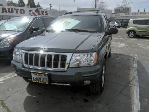 2004 Jeep Grand Cherokee for sale at Best Deal Auto Sales in Stockton CA