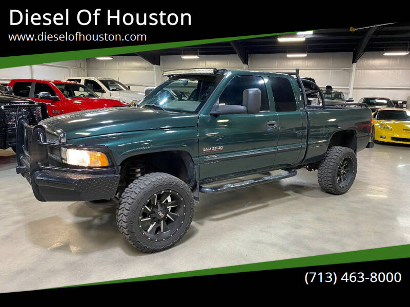 2000 Dodge Ram Pickup 2500 for sale at Diesel Of Houston in Houston TX