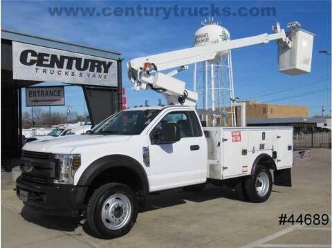 2019 Ford F-450 Super Duty for sale at CENTURY TRUCKS & VANS in Grand Prairie TX