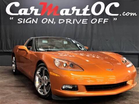 2008 Chevrolet Corvette for sale at CarMart OC in Costa Mesa CA