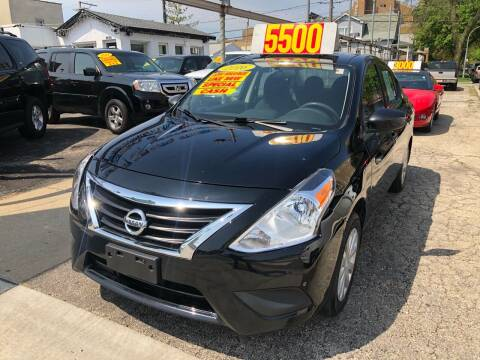 2016 Nissan Versa for sale at Jeff Auto Sales INC in Chicago IL