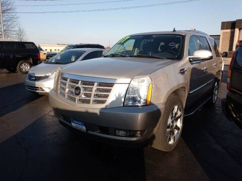 2007 Cadillac Escalade for sale at Arak Auto Group in Bourbonnais IL