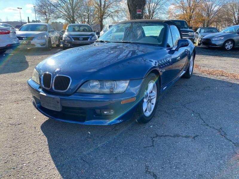 2001 BMW Z3 for sale at Atlantic Auto Sales in Garner NC