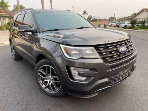 2017 Ford Explorer for sale at SoCal Motors in Los Alamitos CA