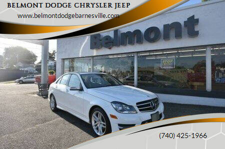 2014 Mercedes-Benz C-Class for sale at BELMONT DODGE CHRYSLER JEEP in Barnesville OH