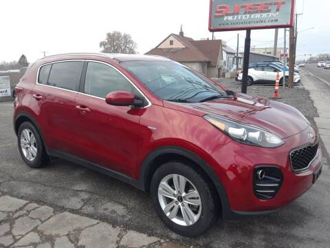 2018 Kia Sportage for sale at Sunset Auto Body in Sunset UT
