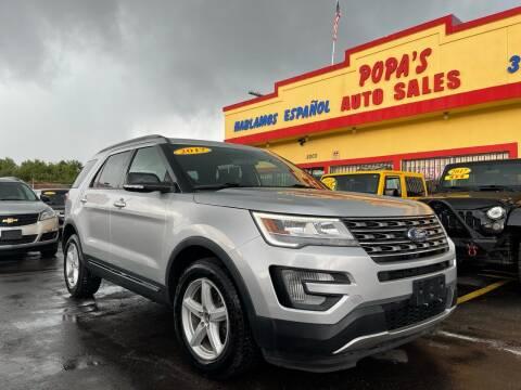 2017 Ford Explorer for sale at Popas Auto Sales in Detroit MI