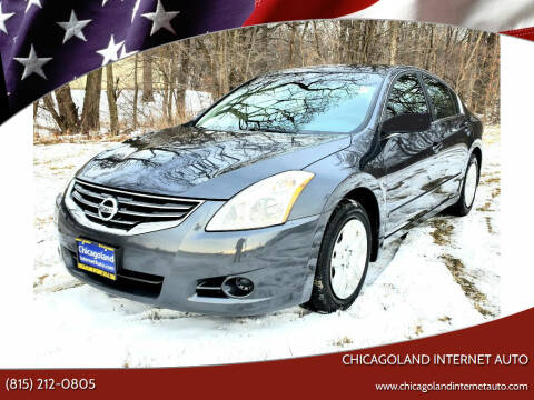 2012 Nissan Altima for sale at Chicagoland Internet Auto - 410 N Vine St New Lenox IL, 60451 in New Lenox IL