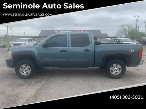 2009 Chevrolet Silverado 1500 for sale at Seminole Auto Sales in Seminole OK