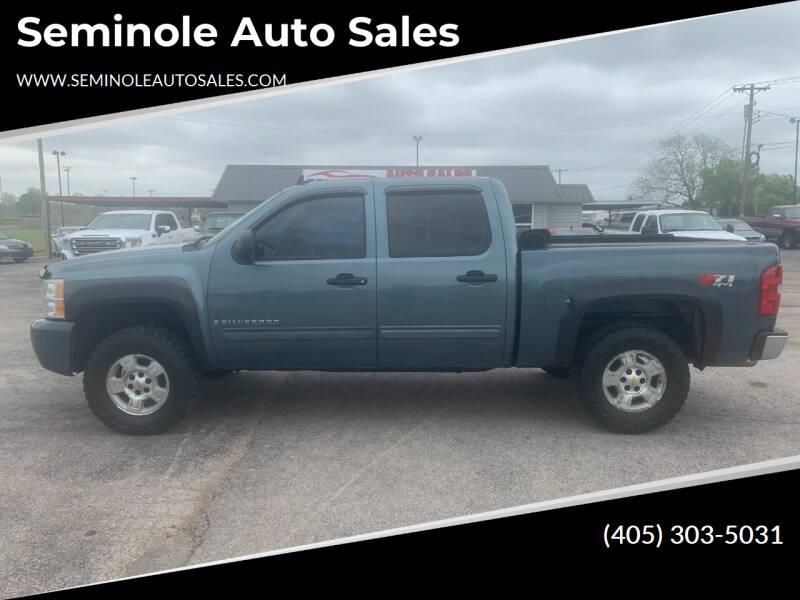 2009 Chevrolet Silverado 1500 for sale at Seminole Auto Sales in Seminole OK