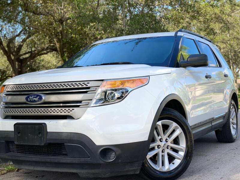 2015 Ford Explorer for sale at HIGH PERFORMANCE MOTORS in Hollywood FL