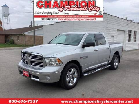 2015 RAM Ram Pickup 1500 for sale at CHAMPION CHRYSLER CENTER in Rockwell City IA