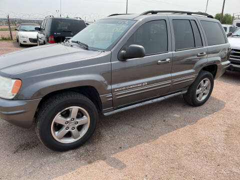 2002 Jeep Grand Cherokee for sale at PYRAMID MOTORS - Fountain Lot in Fountain CO