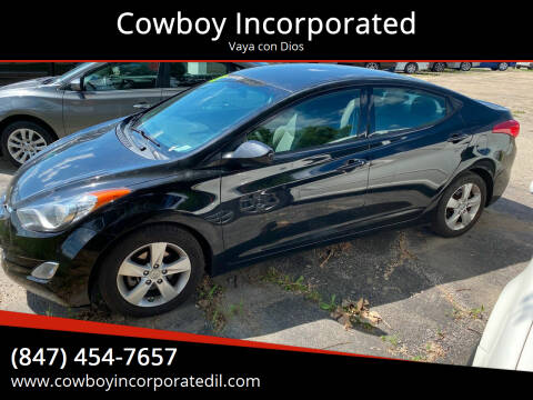2013 Hyundai Elantra for sale at Cowboy Incorporated in Waukegan IL