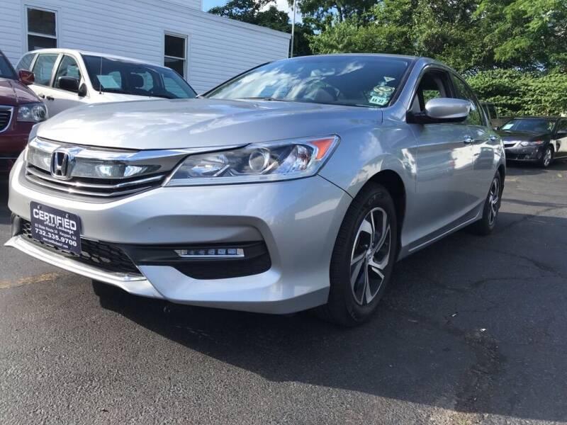 2017 Honda Accord for sale in Keyport, NJ