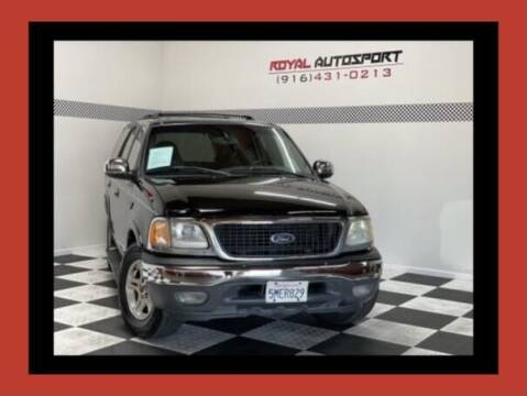 2002 Ford Expedition for sale at Royal AutoSport in Sacramento CA