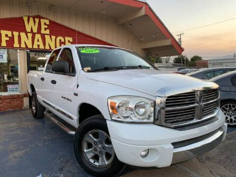 2007 Dodge Ram Pickup 1500 for sale at Caspian Auto Sales in Oklahoma City OK