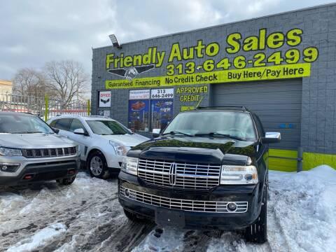 2008 Lincoln Navigator for sale at Friendly Auto Sales in Detroit MI