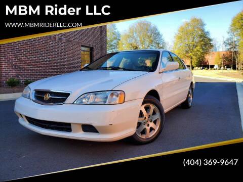 2000 Acura TL for sale at MBM Rider LLC in Alpharetta GA