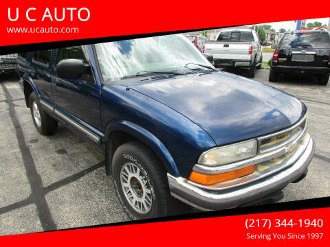 2001 Chevrolet Blazer for sale at U C AUTO in Urbana IL