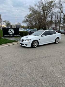 2009 Pontiac G8 for sale at Station 45 Auto Sales Inc in Allendale MI