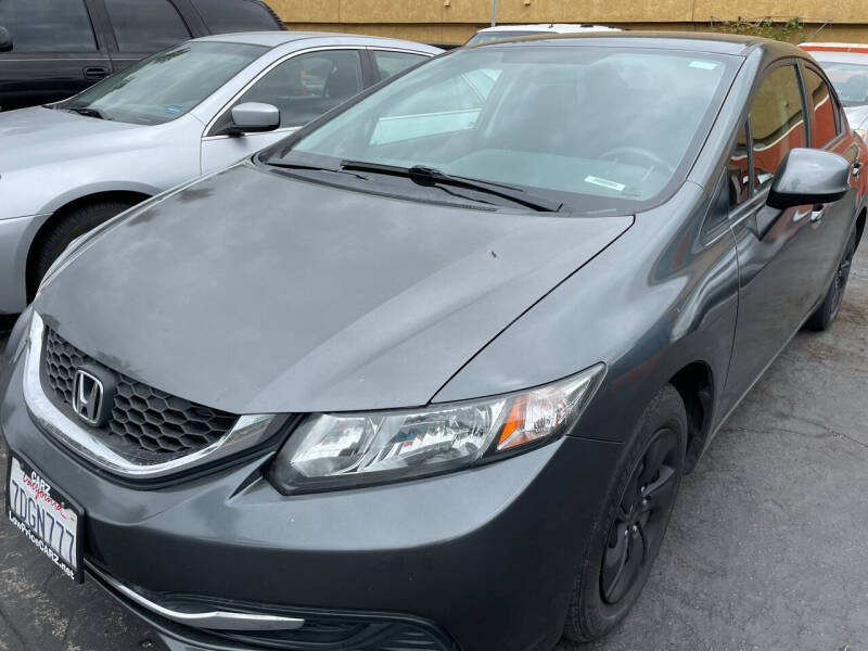 2013 Honda Civic for sale at CARZ in San Diego CA