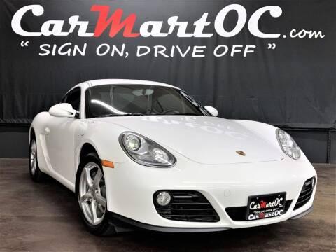2011 Porsche Cayman for sale at CarMart OC in Costa Mesa CA