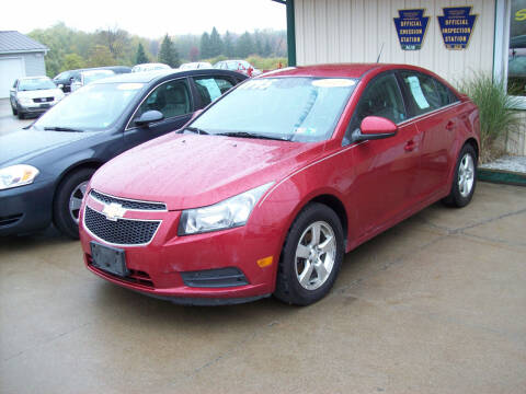 2011 Chevrolet Cruze for sale at Summit Auto Inc in Waterford PA