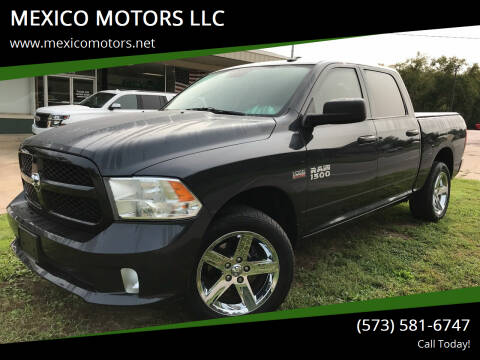2016 RAM Ram Pickup 1500 for sale at MEXICO MOTORS LLC in Mexico MO