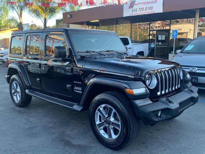 2018 Jeep Wrangler Unlimited for sale at Automaxx Of San Diego in Spring Valley CA