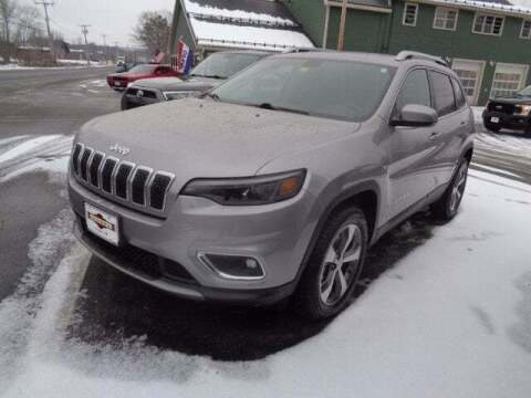 2019 Jeep Cherokee for sale at SCHURMAN MOTOR COMPANY in Lancaster NH