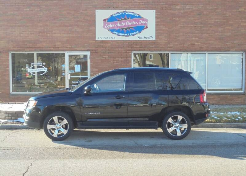 2017 Jeep Compass for sale at Eyler Auto Center Inc. in Rushville IL