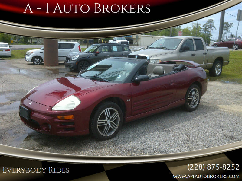 2005 Mitsubishi Eclipse Spyder for sale at A - 1 Auto Brokers in Ocean Springs MS