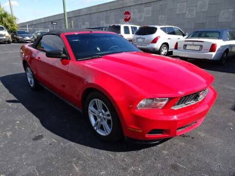 2010 Ford Mustang for sale at DONNY MILLS AUTO SALES in Largo FL