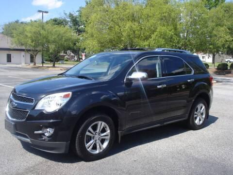 2013 Chevrolet Equinox for sale at Uniworld Auto Sales LLC. in Greensboro NC