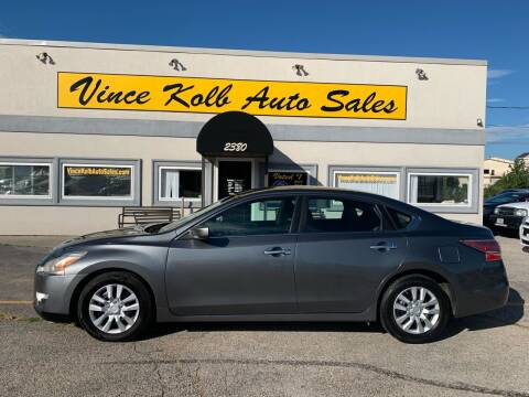 2015 Nissan Altima for sale at Vince Kolb Auto Sales in Lake Ozark MO