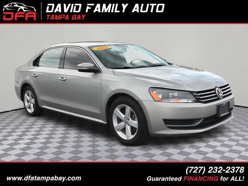 2014 Volkswagen Passat for sale at David Family Auto in New Port Richey FL