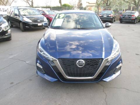 2019 Nissan Altima for sale at Quick Auto Sales in Modesto CA