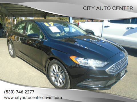2017 Ford Fusion for sale at City Auto Center in Davis CA