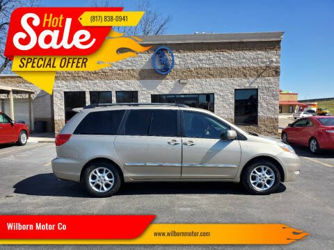 2006 Toyota Sienna for sale at Wilborn Motor Co in Fort Worth TX