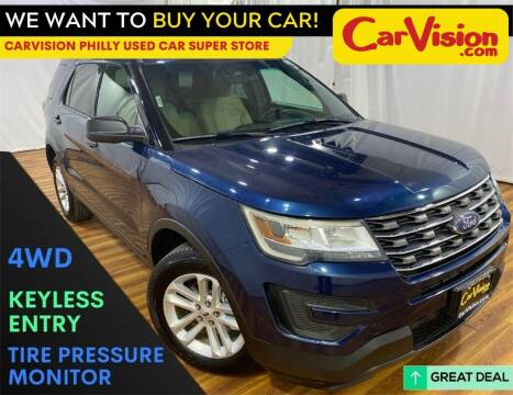 2016 Ford Explorer for sale at Car Vision Mitsubishi Norristown - Car Vision Philly Used Car SuperStore in Philadelphia PA