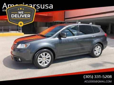 2009 Subaru Tribeca for sale at Americarsusa in Hollywood FL
