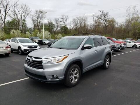2015 Toyota Highlander for sale at White's Honda Toyota of Lima in Lima OH