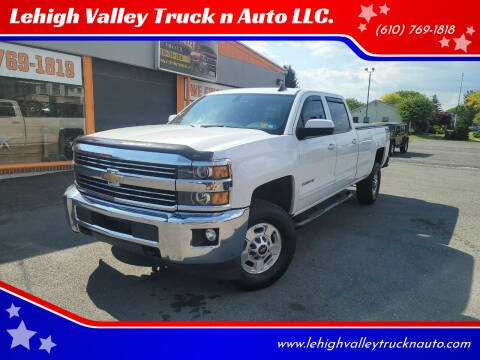 2015 Chevrolet Silverado 2500HD for sale at Lehigh Valley Truck n Auto LLC. in Schnecksville PA