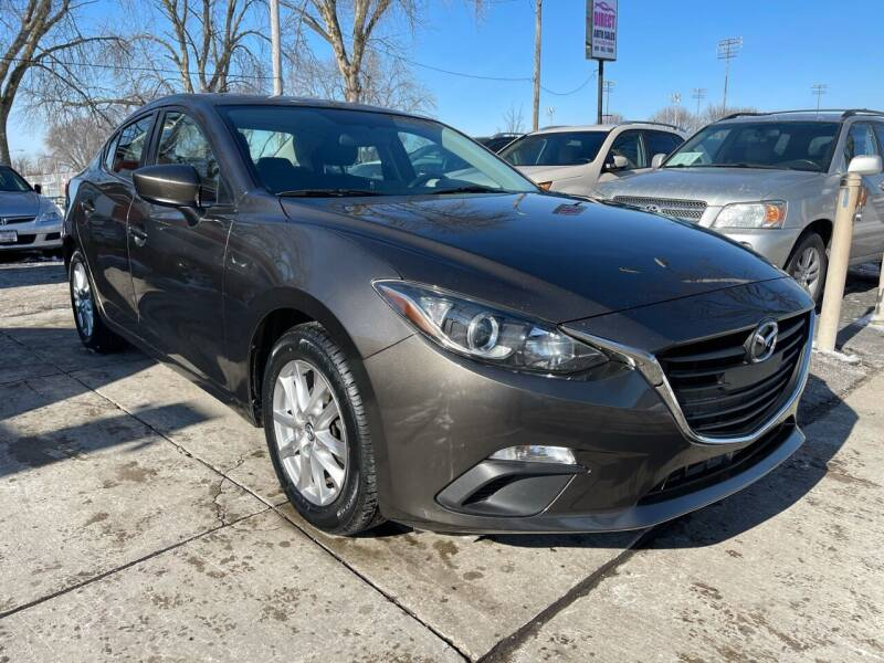 2016 Mazda MAZDA3 for sale at Direct Auto Sales in Milwaukee WI